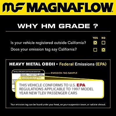 MagnaFlow 93627 Direct Fit Catalytic Converter (Non CARB compliant)
