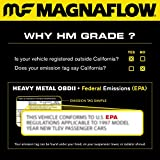 2003 accord catalytic converter - MagnaFlow 27405 Direct Fit Catalytic Converter (Non CARB compliant)