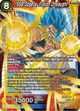 Dragon Ball Super TCG Singles - SSB Gogeta, Fusion Onslaught - BT6-014 - SR - Destroyer Kings ()