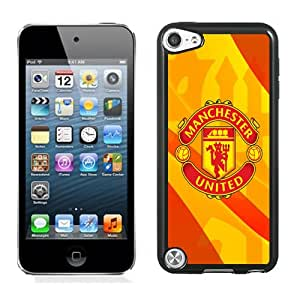 Unique DIY Designed Case For iPod Touch 5 5th With Soccer Club Manchester United 03 Football Logo Phone Case