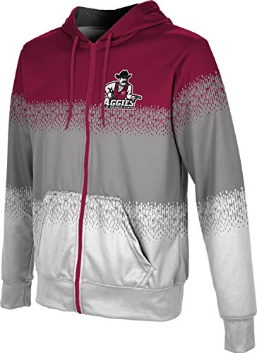 ProSphere New Mexico State University Men's Zipper Hoodie, School Spirit Sweatshirt (Drip) FABC1 Red and -