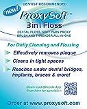ProxySoft 3-in-1 Floss - 100 Travel Packs (500 strands)
