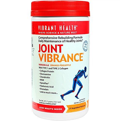 Vibrante santé - Joint Vibrance - complète reconstruction formule quotidienne entretien des articulations saines, 13,1 once (FFP)