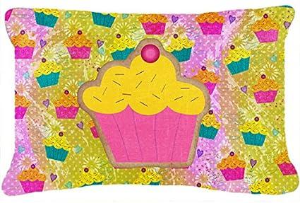 Amazon.com: Caroline s Treasures sb3003pw1216 Cupcake tela ...
