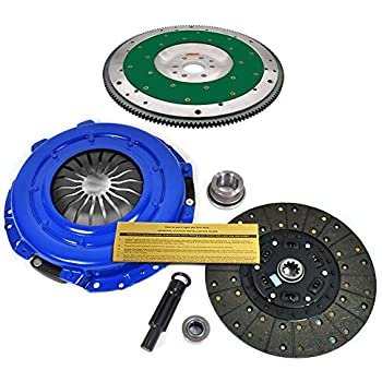 EFT STAGE 1 CLUTCH KIT& FIDANZA ALUMINUM FLYWHEEL 96-04 FORD MUSTANG GT 6-BOLT