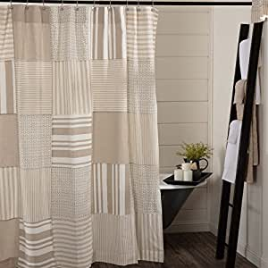 Plaid Kitchen Curtains