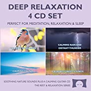 Deep Relaxation 4 CD Set - Soothing Nature Sounds for Meditation, Relaxation and Sleep - Nature's Perfect