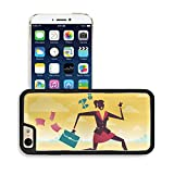 Luxlady Premium Apple iPhone 6 iPhone 6S Aluminium Snap Case Great illustration of Retro Styled Businessman on a fleet of paper Airplanes IMAGE 36227707 by Luxlady Customized Premium Deluxe generation