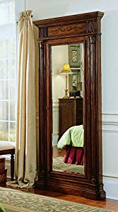 Hooker Furniture Seven Seas Jewelry Armoire With Mirror In Cherry