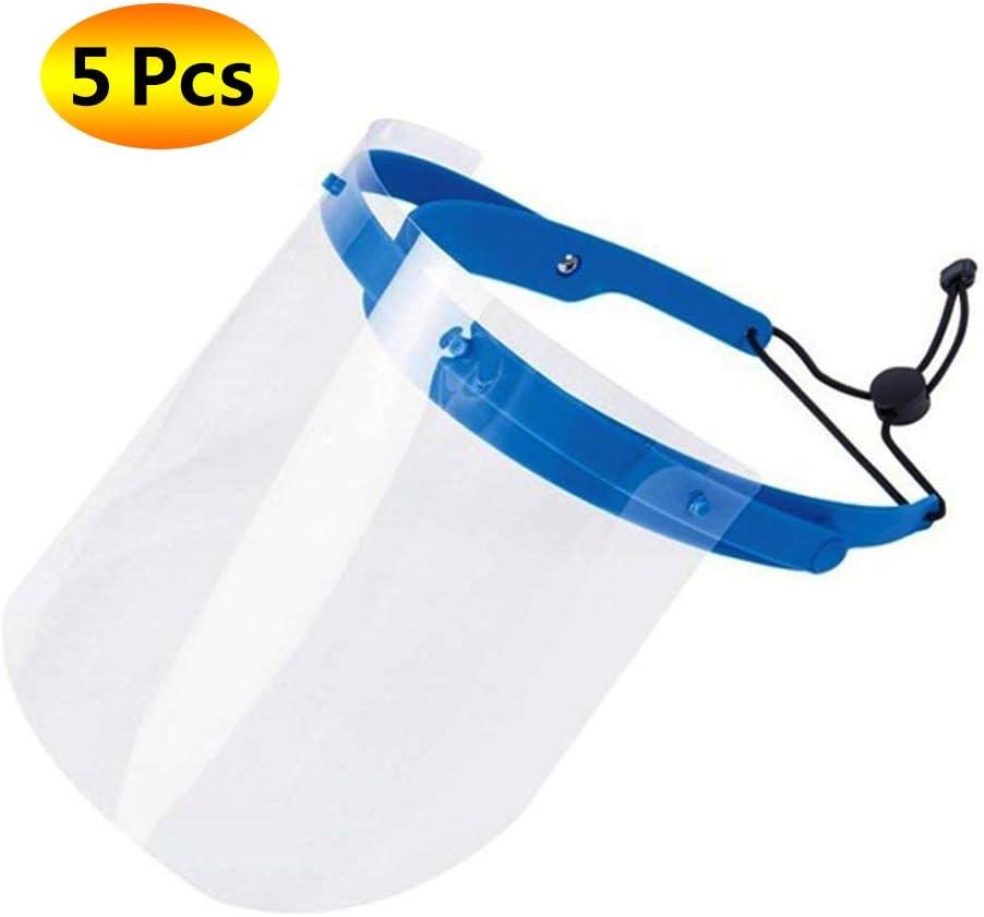WYYZSS Protectores Faciales Multiusos Escudo De Aislamiento Facial Completo Sombrero Protector Anti-Saliva Protección Dental para La Cocina con Cojín Bucal