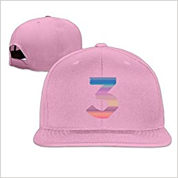 Amazon.com  Custom Chance The Rapper Number 3 Snapback Ajustable Flat Cap  Pink (6201940029647)  Books 05c14441fcd