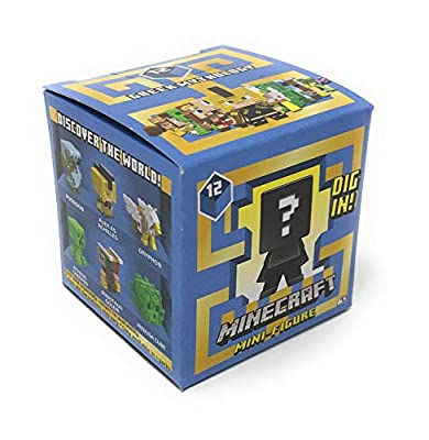 Minecraft Greek Mythology Series 12 Mini-Figure Blind Box (Pack of 4) by Minecraft Unlimited