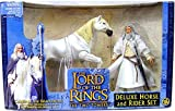 Lord of the Rings Gandalf Action Figure with Shadowfax Deluxe Horse and Rider Set
