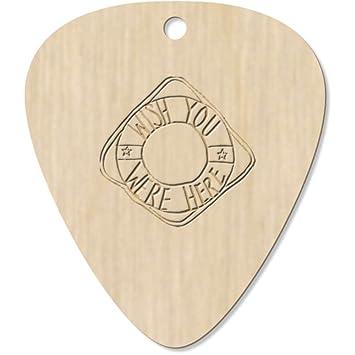 Azeeda 7 x Wish You were Here Guitarra Púa (GP00008885): Amazon ...