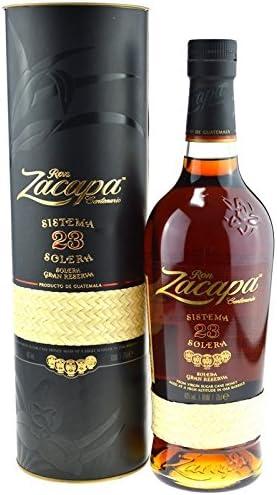 Ron Zacapa Sistema Solera 23 años Ron (1 x 0.7 l): Amazon.es