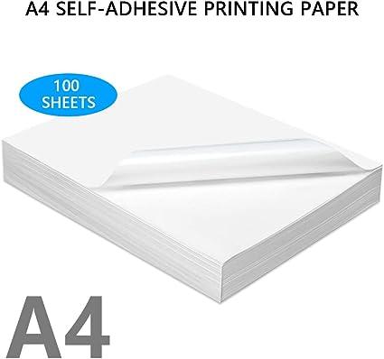 Indirizzo Premium Etichette A4 1 per Foglio Sticky Autoadesivo Inkjet Stampante laser