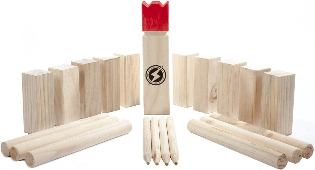 Striker Games Backyard Kubb Set - Party Edition by Striker Games