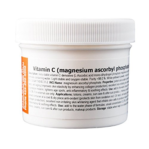 MakingCosmetics - Vitamin C (magnesium ascorbyl phosphate) - 1.0oz / 30g - Cosmetic Ingredient