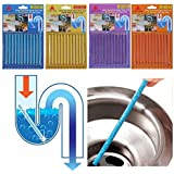 Pipe Cleaners, Bobo Clean Shower Kitchen Sink Drains And Fragrant Odor As Seen On TV (Pack 4)
