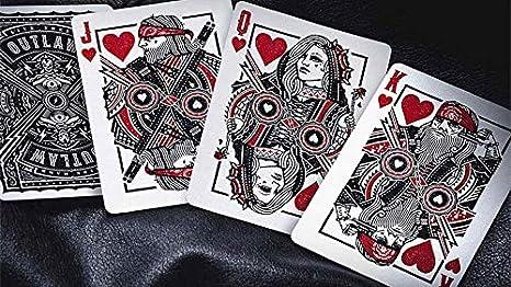 Amazon.com: Cartas de juego de Outlaw de Kings & Crooks ...