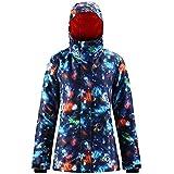 Women's Waterproof Ski Jacket Warm Winter Hooded Womens Snow Jacket Coat Windproof Mountain Snowboarding Jackets Insulated