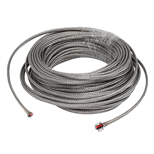 - uxcell 18 Meter Silver Tone Metal K Type Thermocouple Extension Wire