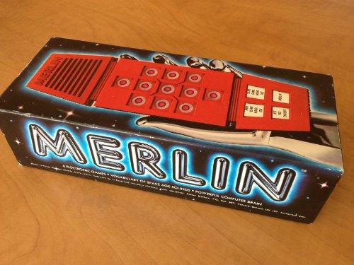 Vintage 1978 Merlin Handheld Game