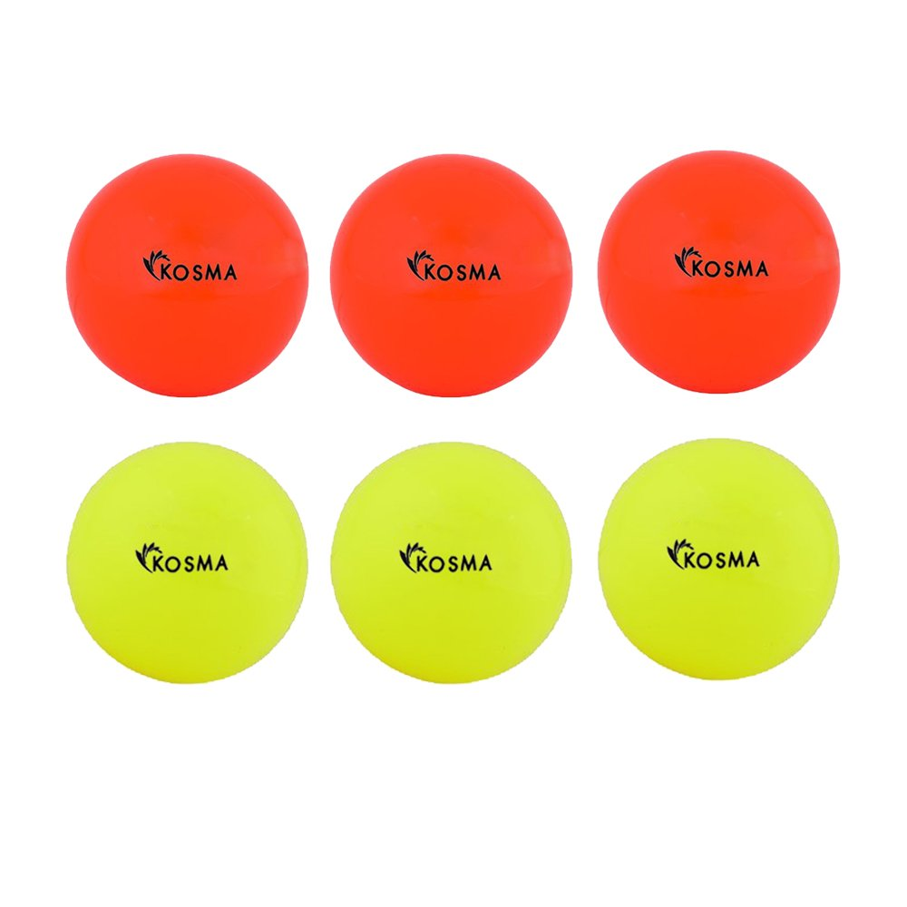 Kosma Set von 6/Glatte Hockey B/älle Outdoor Sports PVC Praxis Training Ball