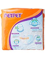 PET PET Jumbo Tape Diapers NB, 60 Count