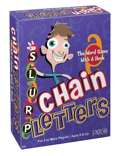 Chain Letters Word Board Game by Patch Products