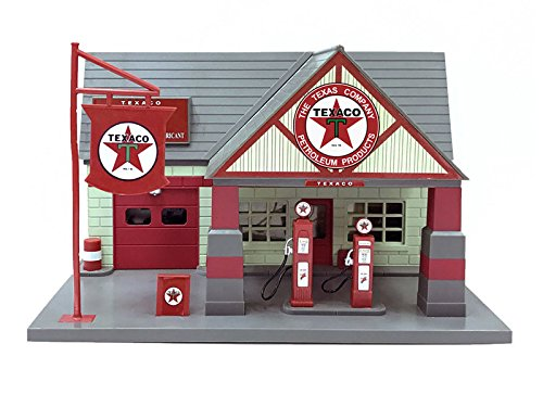 Beyond The Infinity 0650A/TEXACO Texaco 1940 Service Gas Station Diorama 1/32 by Beyond Infinity