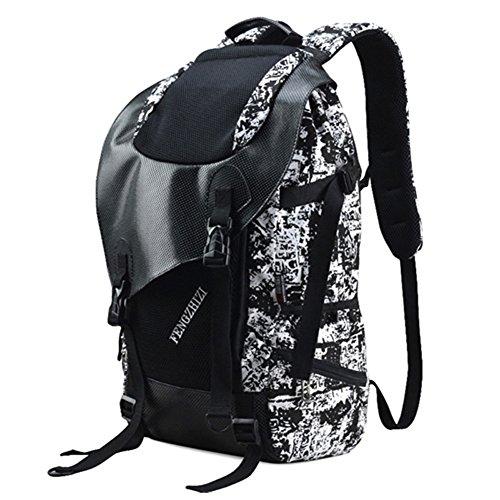 mochila/cartera/mochila de camuflaje de los hombres/bolsa de gran capacidad/La bolsa de ordenador-B A