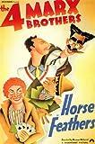 Horse Feathers Poster Movie 11x17 Groucho Marx Chico Marx Harpo Marx Zeppo Marx