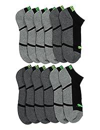 """Puma """"Paneled Sole"""" 6-Pack Low Cut Socks"""