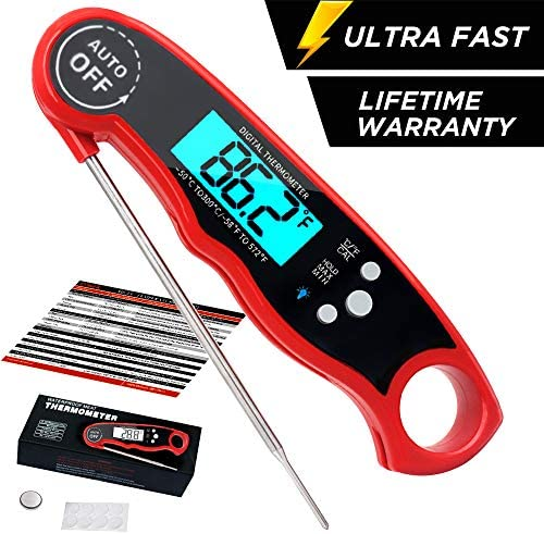 COKEA Thermometer Waterproof Backlight Functions