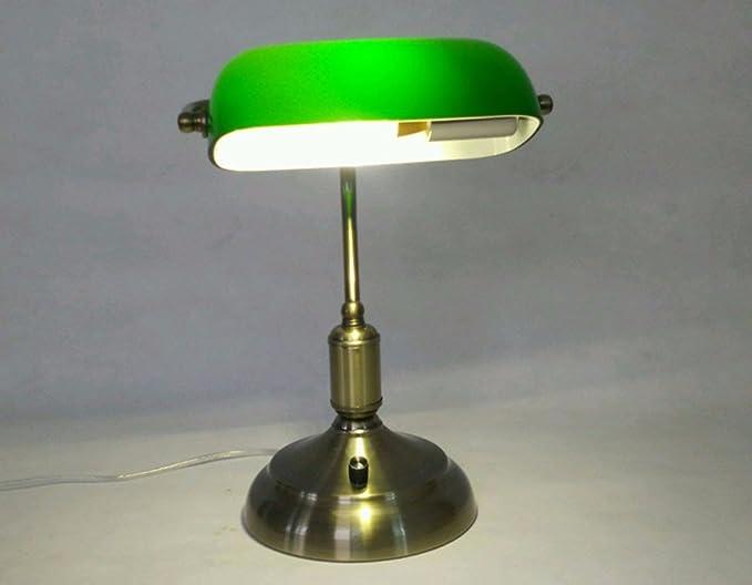 Lampada Ufficio Verde : Sunqian lampada da scrivania per ufficio vetro verde den di