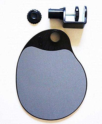 MAX SMART Ergonomic Under Desk Swivel Ergonomic Mouse Platform Pad 4