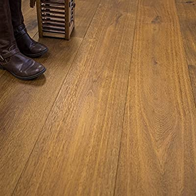 """Super Wide Plank 10 1/4"""" x 5/8"""" European French Oak (Yukon) Prefinished Engineered Wood Flooring Sample at Discount Prices by Hurst Hardwoods"""