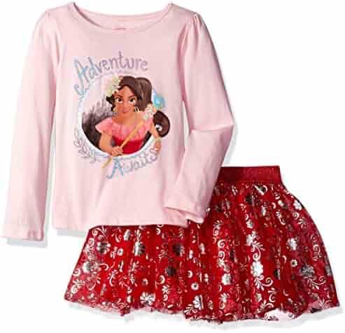 Disney Girls' Elena of Avalor Skirt Set