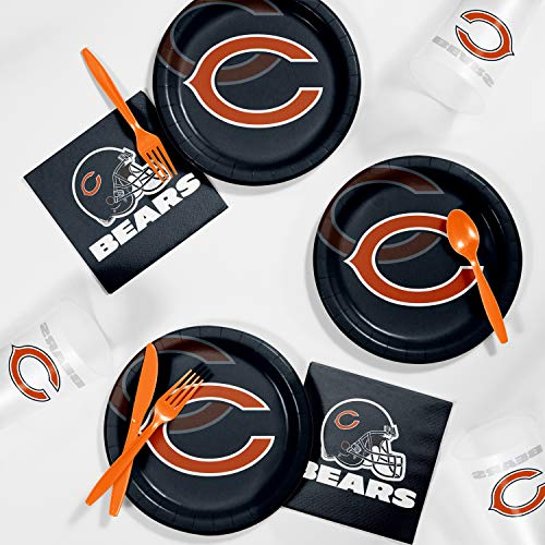 Chicago Bears Tailgating Kit, Serves