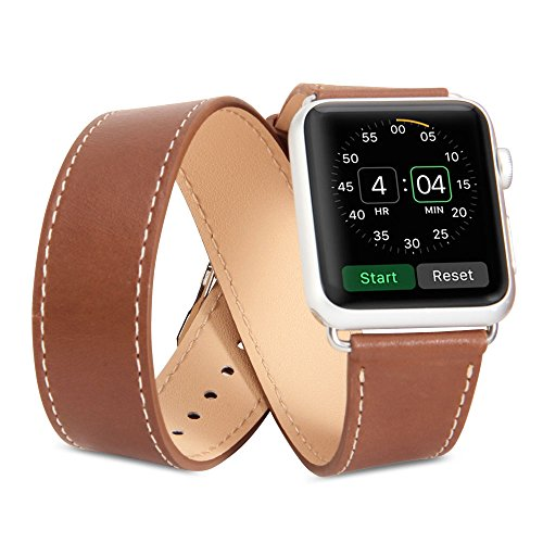 GMYLE Genuine Leather Replacement Bracelet