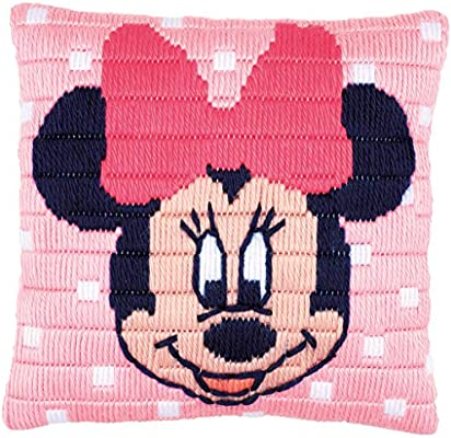 Vervaco - Cojín de Punto de Cruz, diseño de Minnie Mouse de ...