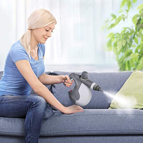 Chemical-free handheld steam cleaner