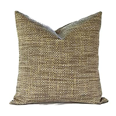 Flowershave357 Outdoor Pillows Outdoor Pillow Covers Decorative Pillows Pillow Cover Tan Pillow Richloom Outdoor Remi Patina: Kitchen & Dining