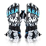 Skiing Snowboarding Gloves-Winter Unisex Ski Snow Gloves-Wind Proof Ski Outdoor Glove-Waterproof Snowboard Snowmobile Shoveling Snow Cold Weather Warm Gloves for Men and Women.