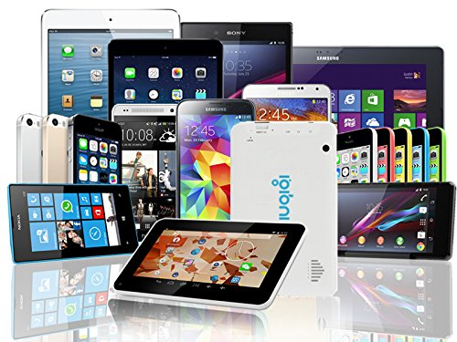 Indigi® DuoCore Power Tablet PC Android 4.2 JB WiFi HDMI Leather Back Free 32GB microSD by inDigi (Image #1)