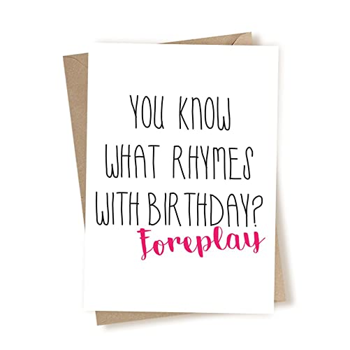 Funny sexy birthday cards