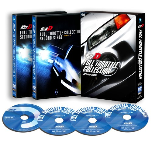 Animation - Initial D Full Throttle Collection Second Stage (3DVDS+CD) [Japan DVD] AVBA-62095