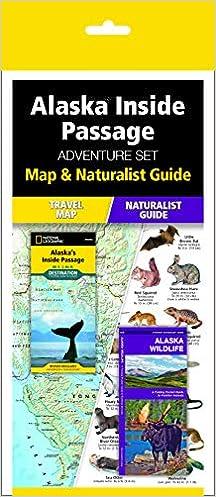Alaska Inside Passage Adventure Set Travel Map Wildlife Guide