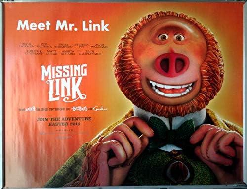 "003 Missing Link Hugh Jackman Adventure Fantasy Movie 26/""x14/"" Poster"